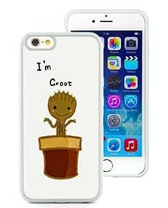 Amazon.com: iPhone 6 Case,I Am Groot Baby Flower White