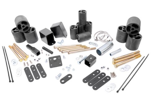 Rough Country - RC613 - 3-inch Body Lift Kit for Jeep: 97-02 Wrangler TJ 4WD