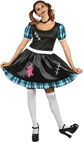Bristol Novelty Voodoo Lady Fancy Dress Women UK Size 10-14