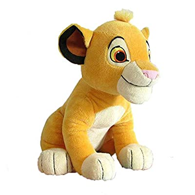 Cute Sitting High 26cm Simba The Lion King Plush Toys Soft Stuffed Animals Doll Gift for Kids Boy Girls Sale, Simba Lion, 1: Clothing