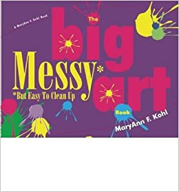 the big messy art book but easy to clean up