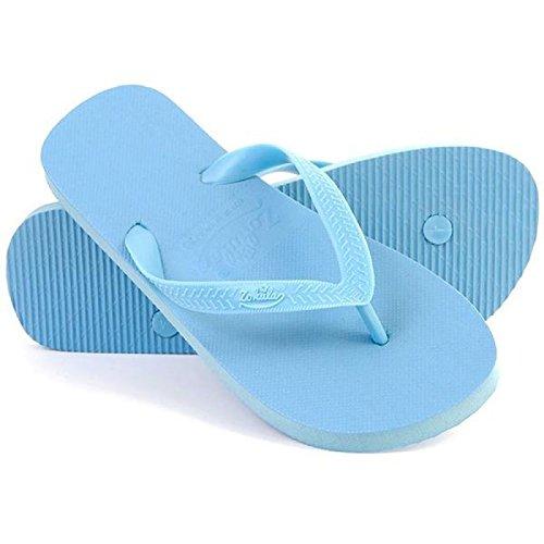 Zohula Lime Sky Blue Flip-flops - Sandalias de Caucho para mujer azul azul celeste 35 1/3 EU