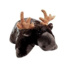 Pillow Pets Brown Pillow Pet- Peewee Moose - 11""