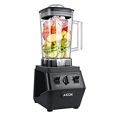 Aicok Professional Blender High Speed Smoothie Blender 1500W Powerful Multi Function Countertop Blender Mixing for Ice Crush, Smoothie and Dessert, with 70Oz Large Tritan Pitcher FDA Certified Blender