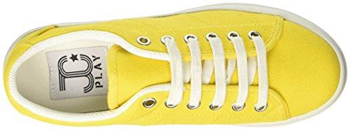 Jeffrey Campbell Zomg - Zapatillas de deporte Mujer amarillo