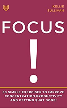 Focus Exercises Improve Concentration Productivity ebook product image
