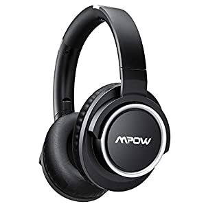 Mpow [Update] Active Noise Cancelling Headphones, ANC Over Ear Bluetooth Headphones w/Mic, Better Noise Cancelling Effect 30 Hours Playtime, Foldable Wireless Headset Cell Phone/PC