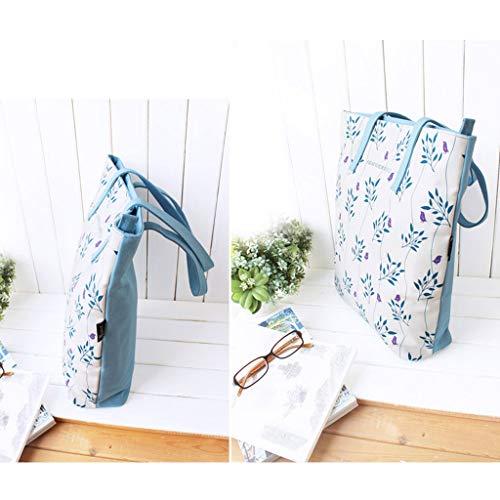 Borse Crossbody Mano Travel Borsa Satchel Fashion a Casual Borsa a Canvas Tracolla Messenger CHENGYI PqUH77