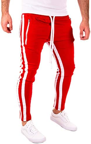 PITTMAN Pista Retro Pantalón De Deporte Hombre 2 Stripes: Amazon ...