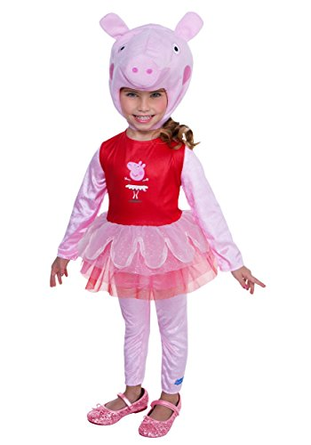 Pig Halloween Costumes (Peppa Pig Ballerina Costume, 2T)