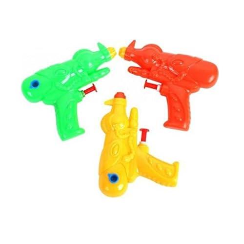 Lot 4 Mini jouet pistolet à eau Jeux Enfant kermesse Anniversaire 9cm -339