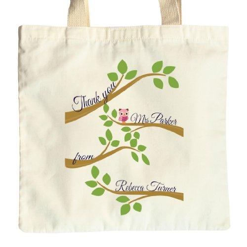 Ali l'gufo rosa & Teacher's-Grande borsa regalo