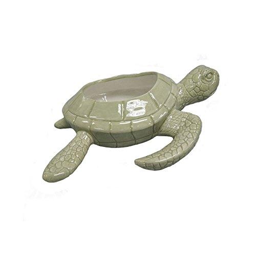 "Comfy Hour 9"" Ceramic Small Cute Turtle Design Succulent ..."