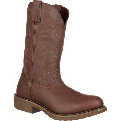 Durango Men's Farm and Ranch FR104 Western Boot,Burly Brown,13 W -