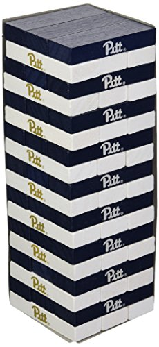- Wild Sports NCAA College Pittsburgh Panthers Table Top Stackers Game