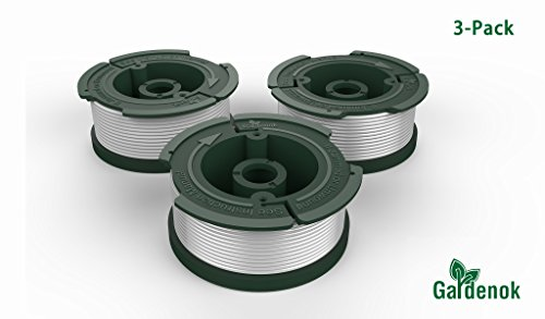 GARDENOK Line String Trimmer Replacement Spool [ Compatible with Black & Decker AF-100/Replacement Autofeed Spool...