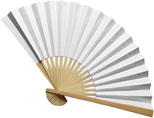 coersd - Abanico de bambú Estilo Chino, Abanico de Mano, Papel de ...