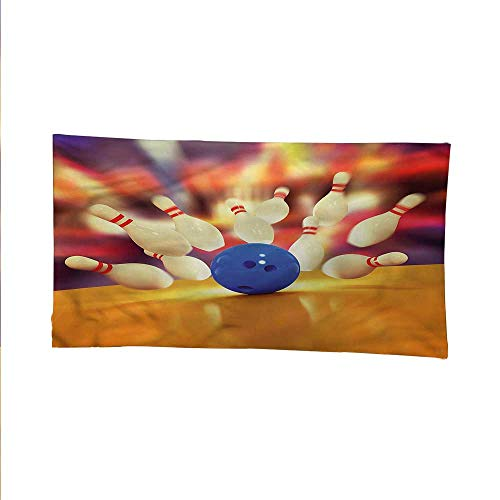Bowling Partybeach Tapestry Wall hangingdorm Room tapestryMoment of Crash 60W x 51L Inch (Bowling Palm Desert)