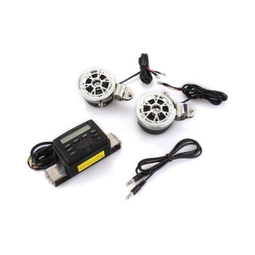 9 opinioni per Sistema Audio Stereo Radio Con Altoparlante Controllore per Moto