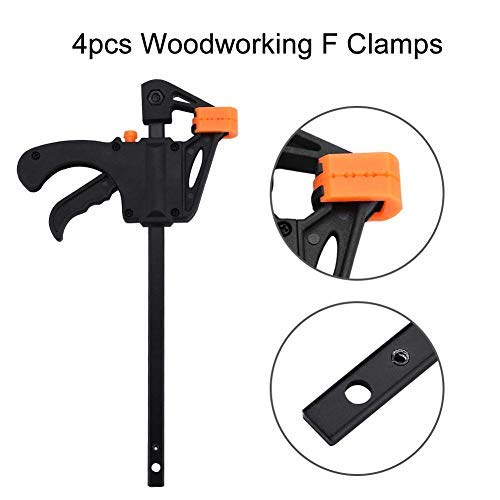 4pcs F-Clamp For Home Improvement, 4