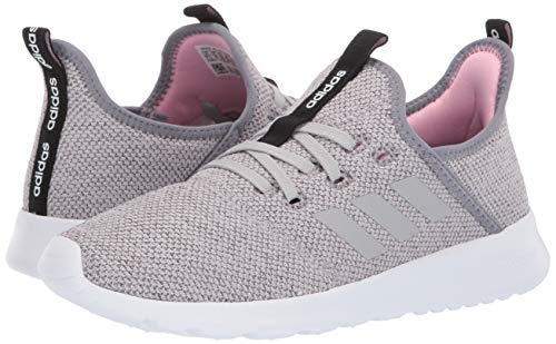 adidas Women's Cloudfoam Pure, Grey/True Pink, 5 M US by adidas (Image #6)