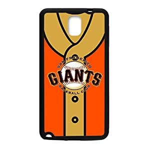 MLB San Francisco Giants Black Phone Case for Samsung note3