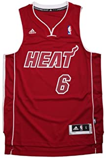 Amazon.com : NBA Miami Heat Winter Court Big Color Swingman Jersey