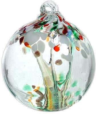 Kitras Art Glass Tree of Christmas Enchantment Ball - 2
