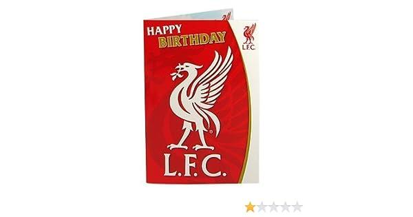 Amazon Liverpool FC Liverbird Musical Birthday Card Toys – Liverpool Fc Birthday Card