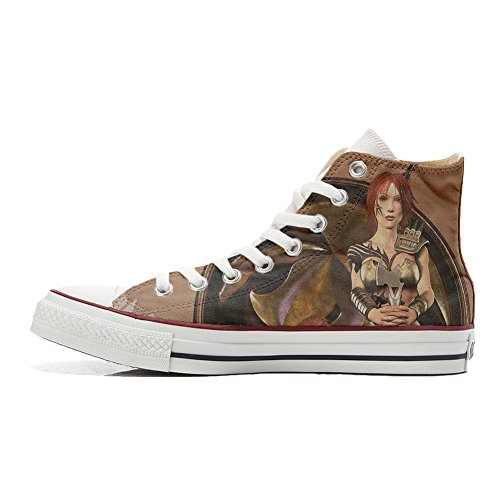 produit Girl Converse coutume artisanal Adulte Customized chaussures Warrior 1p1I6O0q