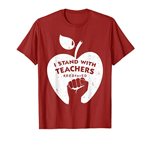 Red For Ed Arizona Educators United Teachers Strike Shirt