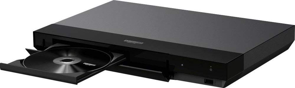 Sony 4K Blu Ray Player Ultra HD 3D Hi-Res Audio Wi-Fi and Bluetooth Built-in Blu-ray Player with A 4K HDMI Cable and Remote Control by Sony