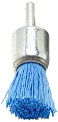 Dico 541-787-3/4 Nyalox End Brush 3/4-Inch Blue 240 Grit