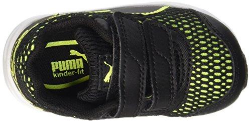 Puma Descendant V4 V Inf Sneaker, Negro/Safety Yellow Nero/Safety Yellow