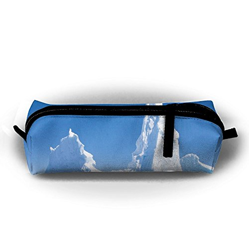Iceberg Cross - EWFBVa Durable Zipper Stationery Bag Iceberg Head Big Capacity Pencil Case