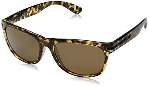 Pepper's Breakers Polarized Wayfarer Sunglasses, Shiny Tortoise, 55 - Sunglasses Amazon Cheap