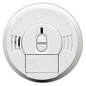 o Kidde o - Front-Load Battery-Operated Smoke Alarm w/ Mounting Bracket, Hush feature