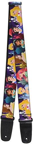 "Buckle-Down GS-WDY207 Guitar Strap - ""Disney Princess Pos..."