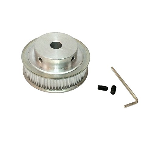 BEMONOC Stepper Motor Timing Belt Pulley 64 Teeth 3M Synchronous Pulleys 12mm 14mm Bore for 3M Timing Belt 15mm Width