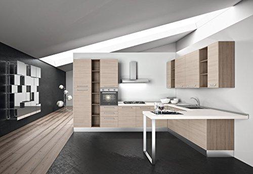 Cocina completa modular, de 375 cm de largo x 280 cm de ...