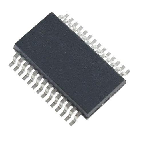 Digital Signal Processors & Controllers - DSP, DSC 16 Bit DSC, 128KB Flash, 16KB RAM, 100MHz, 28Pin, 3 OpAmp, 3 Comp, PTG Pack of 10 (dsPIC33CK128MP202-I/SS)
