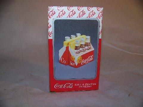 Coca-Cola Salt & Pepper Shakers