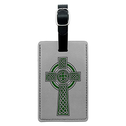 Graphics & More Celtic Christian Cross-Irish Ireland Scotland Scottish-Green White, Black by Graphics and More (Image #2)