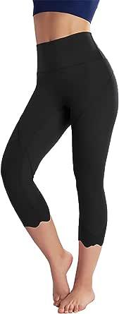 EILYEE Women High Waist Yoga Pants Ultra Soft 4 Way Stretch Tummy Control Workout Running Leggings with Pockets