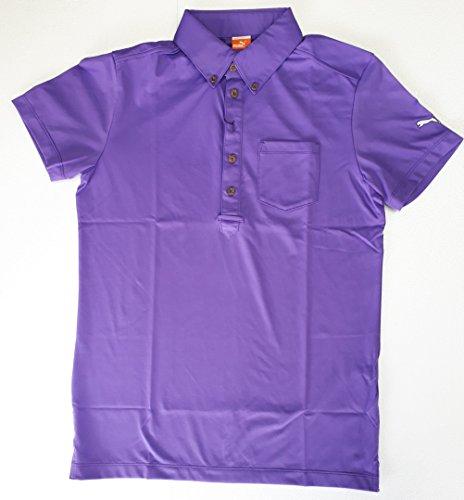 PUMA(プーマ) ゴルフS/Sポロ メンズ ポロシャツ(半袖) ディープラベンダー  903465-02 Mサイズ
