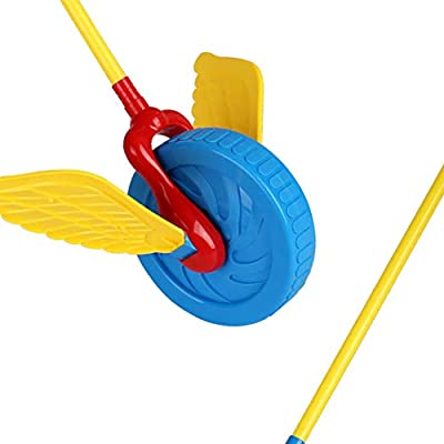 zoylink Toddler Push Toy Cartoon Funny Creative Walking Toy Learning Toy Educational Toy: Toys & Games