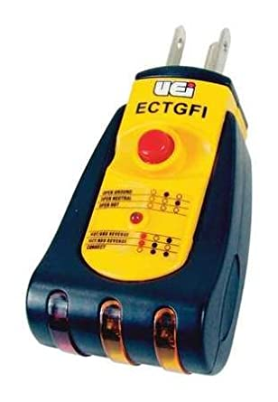 UEI Test Instruments ECTGFI Ground Fault Indicator Tester