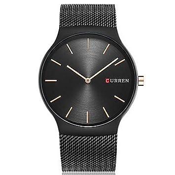 XKC-watches Relojes para Hombres, Curren Hombre Reloj Deportivo Reloj de Moda Reloj de