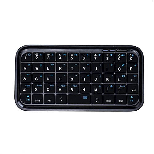 Egmy Fashion 49 Keys Mini Bluetooth Wireless Keyboard for iPad-Laptop PC Android Tab PS3