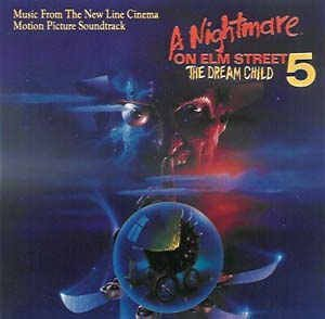 A Nightmare On Elm Street 5: The Dream Child (Music From The 1989 Soundtrack, Featuring: Bruce Dickinson, Romeo's Daughter, WASP, Mammoth, Slave Raider, Whodini, Samantha Fox, Kool Moe Dee, Doctor Ice, Schoolly D)